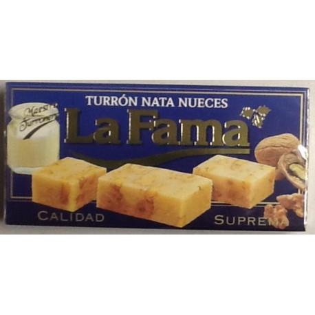 LA FAMA TURRON NATA NUECES 200 GRS