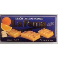LA FAMA TURRON TARTA DE NARANJA 200 GRS