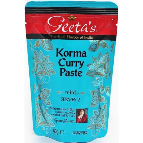 GEETA'S KORMA PATE DE CURRY