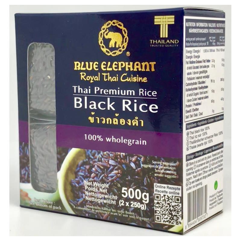 BLUE ELEPHANT RIZ NOIR  2X250G