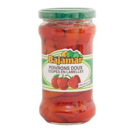 Poivrons rouges en lamelles BAJAMAR