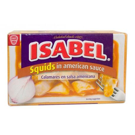 Calamars sauce américaine ISABEL