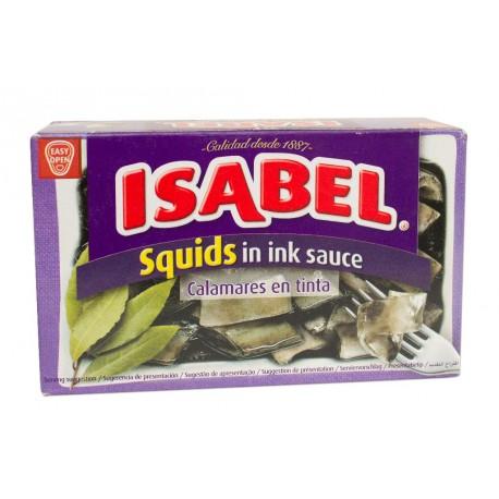 Calamars à l'encre ISABEL