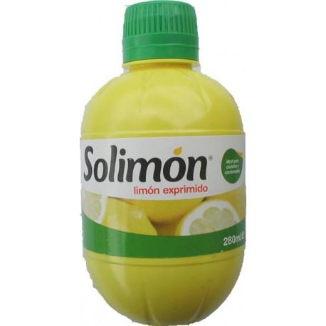 SOLIMON JUS DE CITRON PRESSE 280 ML