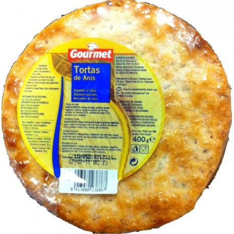 GOURMET TORTAS ANIS 400 GRS
