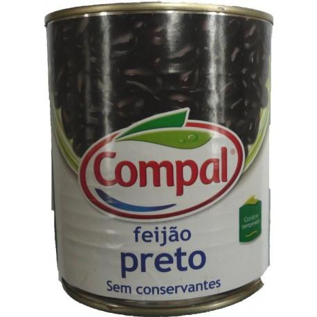 Haricots noires cuits COMPAL