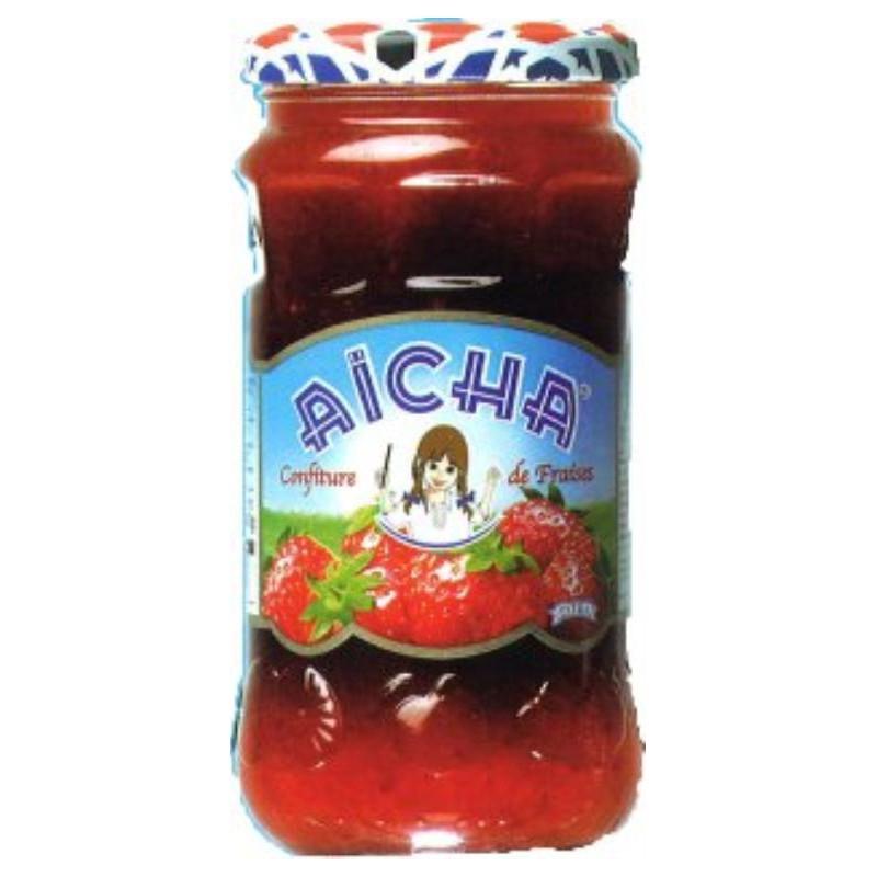 Confiture de fraises AICHA