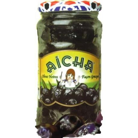 Olives noires à la grecque AICHA