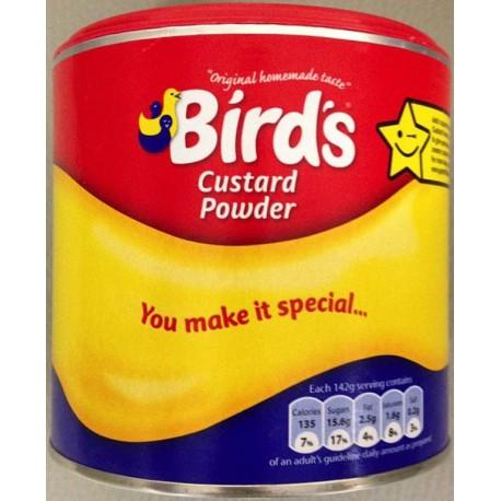 préparation crème BIRD'S CUSTARD