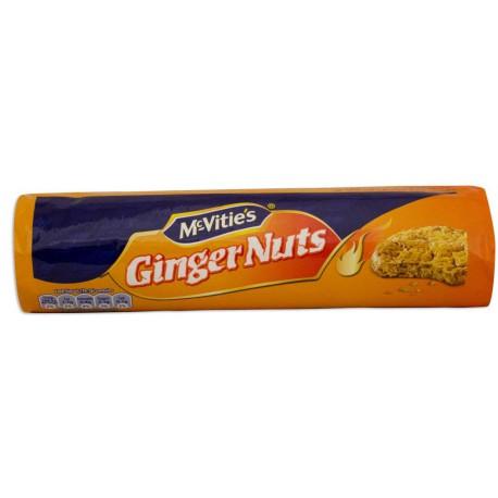 MC VITIES GINGER NUTS 250G