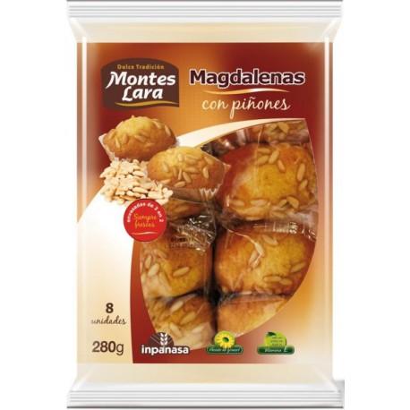 MONTES LARA MADELEINES PIGNONS 280 GRS