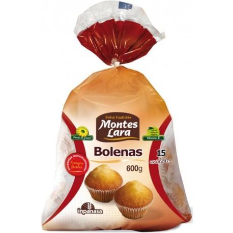 MONTES LARA MADELEINES BOLENAS 600 GRS