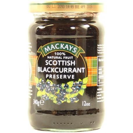 MACKAYS Scottish blackcurrant confiture de cassis