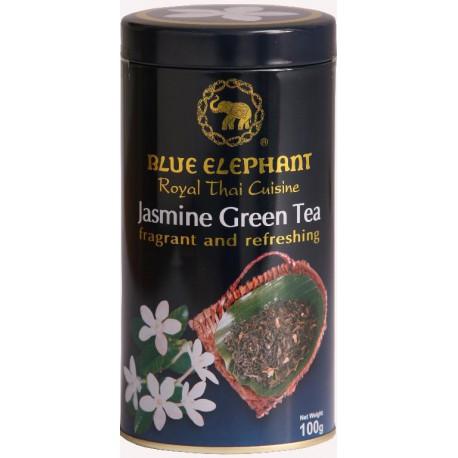 BLUE ELEPHANT JASMINE GREEN TEA 100G