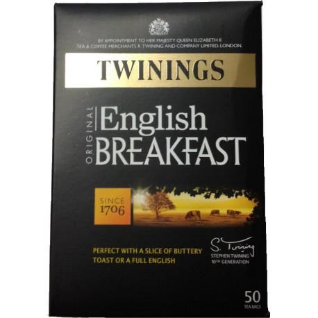THE ENGLISH BREAKFAST TWININGS