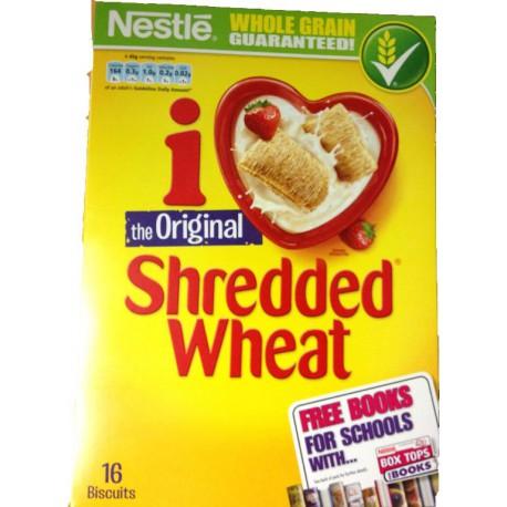 Shredded wheat NESTLE