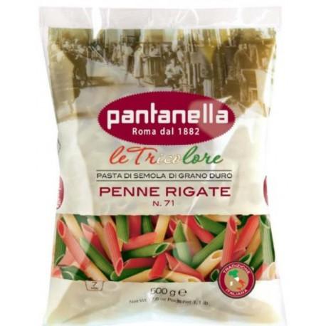PANTANELLA PENNE RIGATE TRICOLORE N°71 -500G