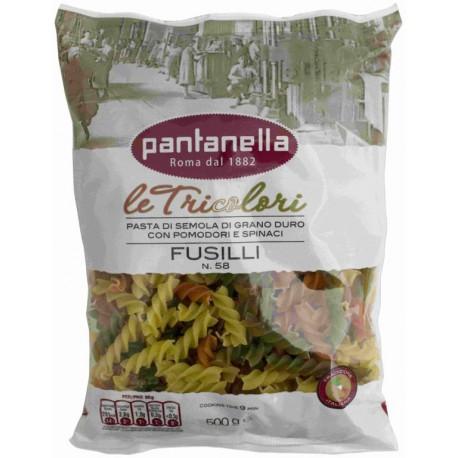 PANTANELLA FUSILLI TRICOLORE N°58- 500G