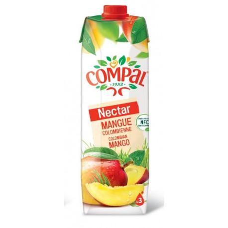 COMPAL NECTAR MANGUE DE LA COLOMBIE 1L