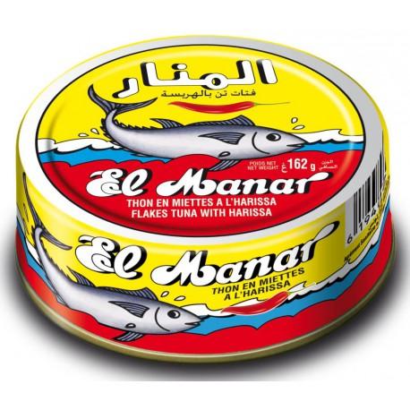 EL MANAR THON EN MIETTES A L'HARISSA 162 G