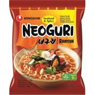 NONG SHIM NOUILLES INSTANT. NEOGURI FRUITS DE MER EPICE 120G
