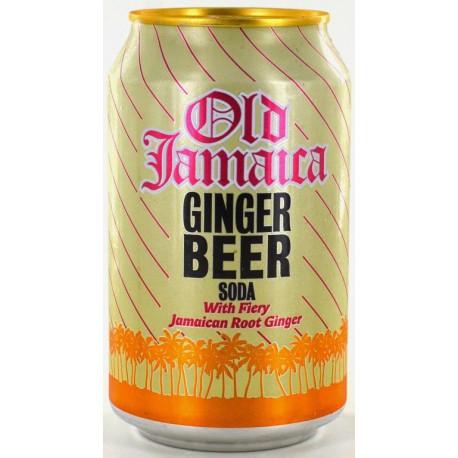 OLD JAMAICA GINGER BEER SODA PACK 6x33CL