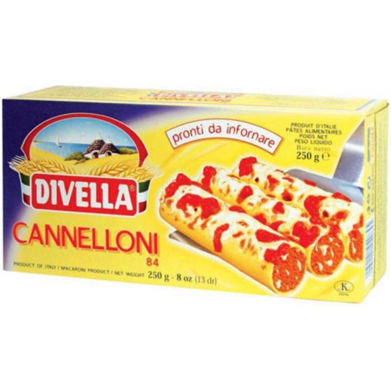 DIVELLA CANNELLONI 250 GRS