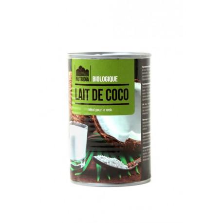 LAIT DE NOIX DE COCO 400G BIO & SANS GLUTEN NUTRIDIA