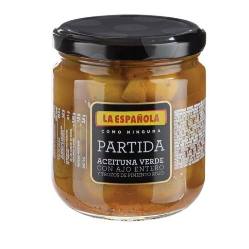 LA ESPANOLA OLIVES PARTIDAS AIL POIVRON