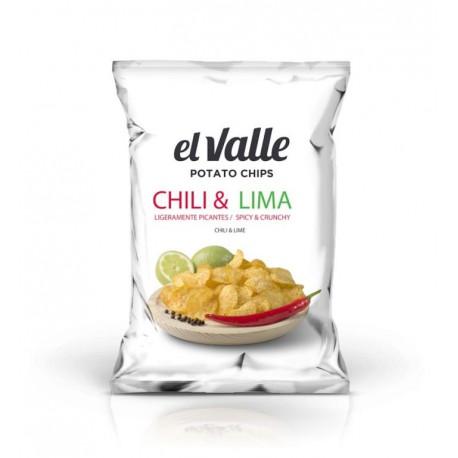 EL VALLE CHIPS SAVEUR CHILI ET CITRON 130 GRS