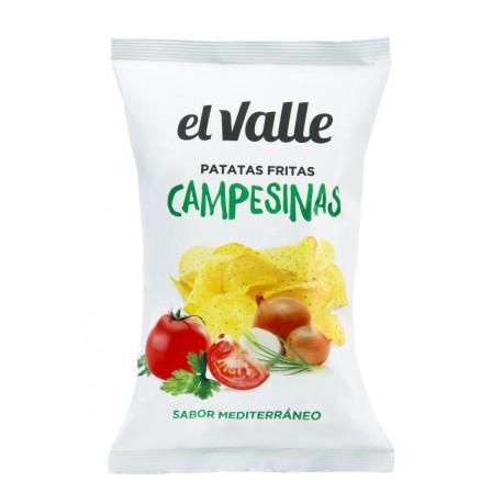 EL VALLE CHIPS CAMPESINAS SAVEUR MEDITERRANEENNE 130G
