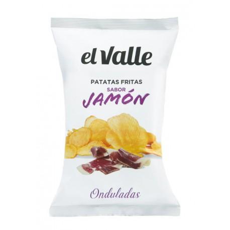 EL VALLE CHIPS SAVEUR JAMBON 130 GRS