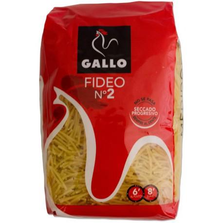 GALLO PATES FIDEO N°2 450G